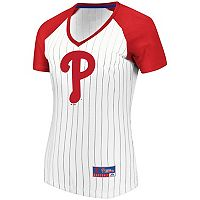 Women's Majestic Philadelphia Phillies Jersey Tee