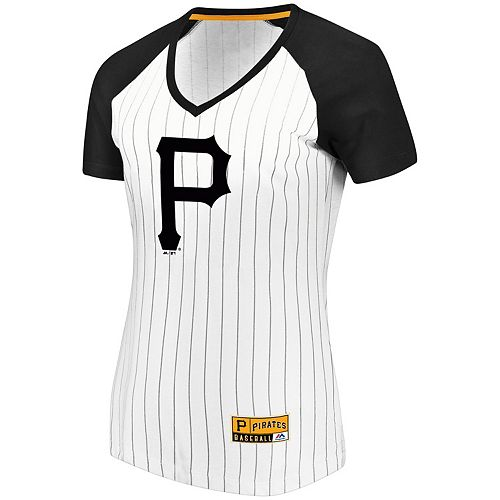 Women S Majestic Pittsburgh Pirates Jersey Tee