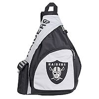 Oakland Raiders Lead Off Sling Backpack by Northwest
