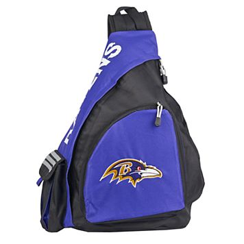 Baltimore Ravens Lead Off Sling Backpack by Northwest