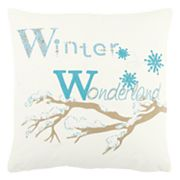 Rizzy Home 'Winter Wonderland' Throw Pillow