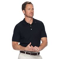 Deals on Croft & Barrow Classic-Fit Easy-Care Pique Performance Polo Mens
