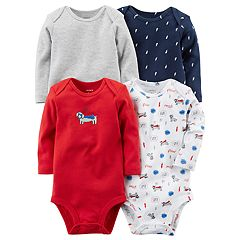 Baby Boy Carter's 4-pk. Super Dog Bodysuits
