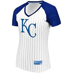 Women's Majestic Kansas City Royals Jersey Tee