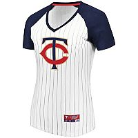 Women's Majestic Minnesota Twins Jersey Tee