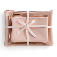 LC Lauren Conrad Cosmetic Bag Set