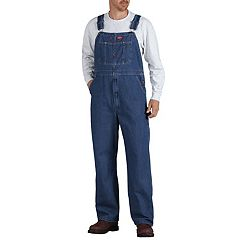 Men's Dickies Regular-Fit Stonewashed Bib Overalls