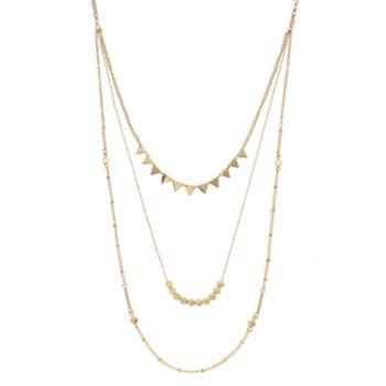 Geometric Swag Choker Necklace
