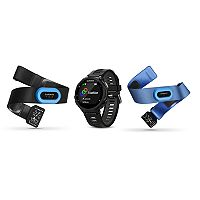Garmin Forerunner 735XT GPS Running Watch Tri Bundle