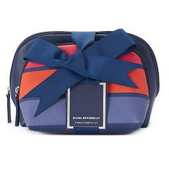 Dana Buchman 2 Pocket Cosmetic Bag