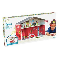 Krooom Dylan Fire Station Playset