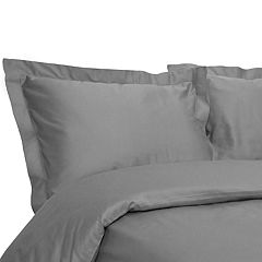 Grand Collection Hemstitch 400 Thread Count Duvet Cover Set