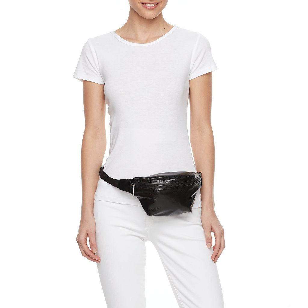 T-Shirt & Jeans Metallic Fanny Pack