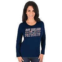 Women's New England Patriots Quick Out Tee
