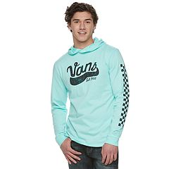 Men's Vans Checkered Logo Hooded Tee