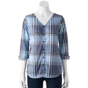 Women's French Laundry Crisscross Shirt