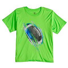 Boys 8-20 Tek Gear® Football Max Speed Tee
