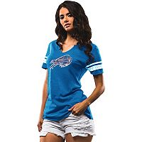 Women's Majestic Buffalo Bills Go For Two Tee