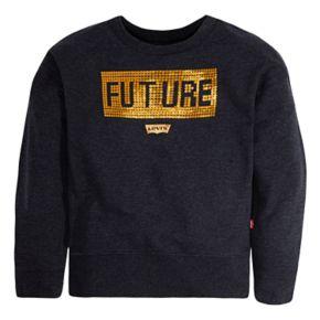 Girls 7-16 Levi's Sequin Pullover Sweatshirt