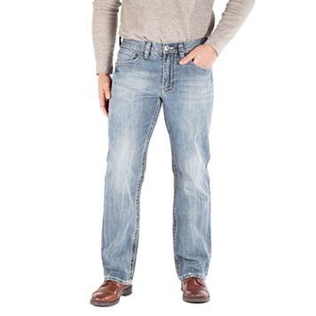 Men's Axe & Crown Double Duff Relaxed-Fit Bootcut Jeans