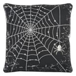 Rizzy Home Spider Web Throw Pillow
