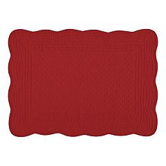 KAF HOME Flax Boutis Placemats 4-pk.