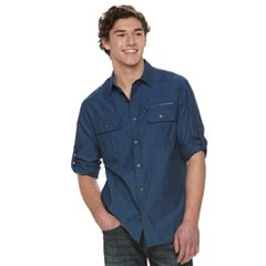Men's Rock & Republic Jacquard Button-Down Shirt