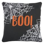 "Rizzy Home ""Boo"" Throw Pillow"