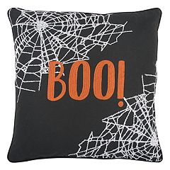 Rizzy Home 'Boo' Throw Pillow