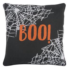 "Rizzy Home ""Boo"" Throw Pillow"