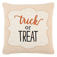 Rizzy Home 'Trick or Treat' Throw Pillow
