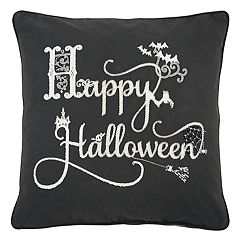 Rizzy Home 'Happy Halloween' Throw Pillow