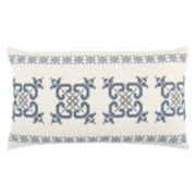 Rizzy Home Holiday Geometric Oblong Throw Pillow