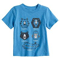 Baby Boy Jumping Beans® Slubbed Animal Trait Graphic Tee