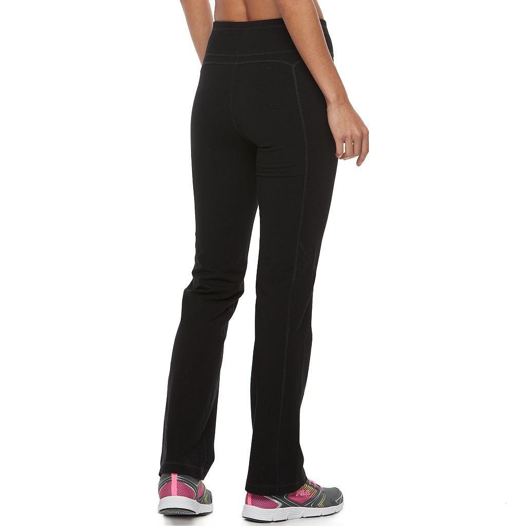 Women's FILA SPORT® Black Workout Pants