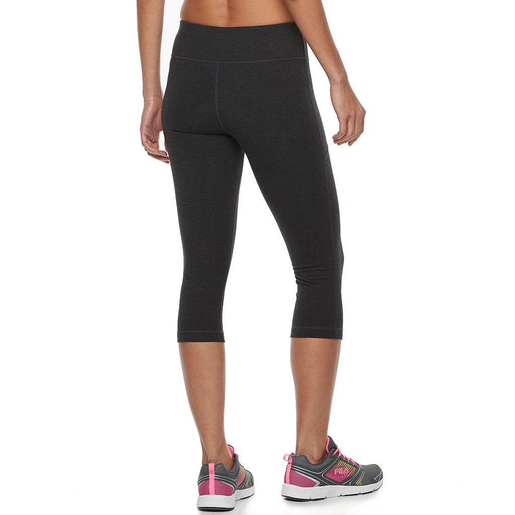 Women's FILA SPORT® Zipper Pocket Capri Leggings