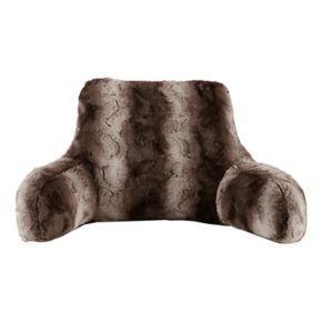 Madison Park Marselle Faux Fur Backrest Pillow