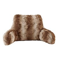 Madison Park Marselle Faux Fur Backrest Pillow