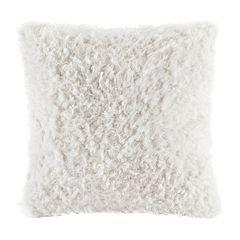 Madison Park Nova Faux Mohair Throw Pillow
