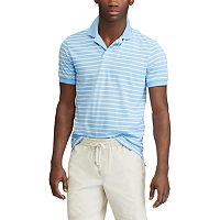 Big & Tall Chaps COOLMAX Classic-Fit Striped Performance Polo