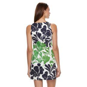 Petite Suite 7 Floral Print Shift Dress