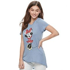 Disney's Minnie Mouse Juniors' Graphic Tee