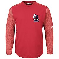 Men's Majestic St. Louis Cardinals Tech Fleece Tee