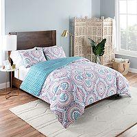 Vue Aura Reversible Comforter Set