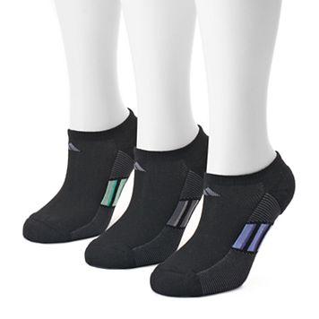Women's adidas 3-pk. Dark Superlite No-Show Socks