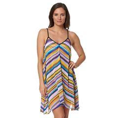Women's Pink Envelope Sunset Haze Cover-Up