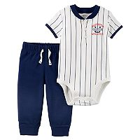 Baby Boy Carter's Baseball Bodysuit & Pants Set