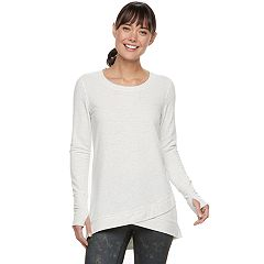 Women's Tek Gear® Cross Over Hem Tunic