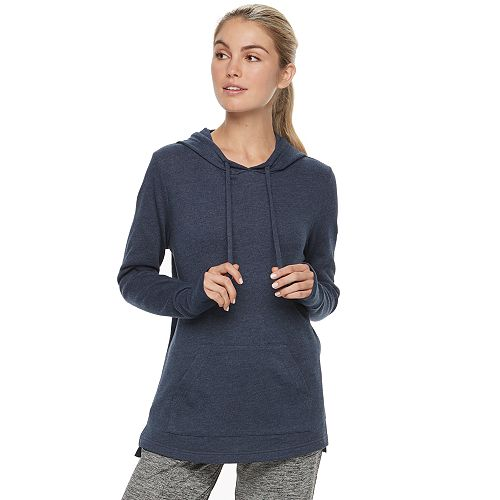 Women's Tek Gear® French Terry Thumb Hole Hoodie