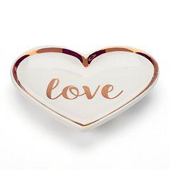LC Lauren Conrad Love, Lauren 'Love' Heart Trinket Tray